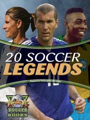 cover image of 20 Soccer Legends