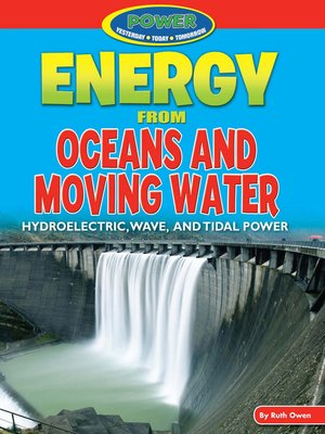 cover image of Energy from Oceans and Moving Water