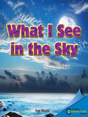 cover image of What I See in the Sky