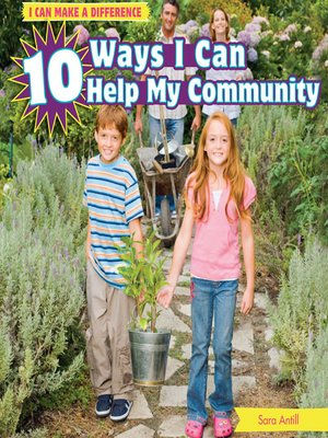 cover image of 10 Ways I Can Help My Community