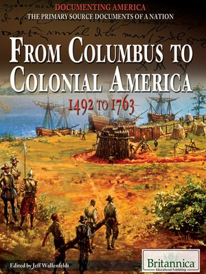 cover image of From Columbus to Colonial America