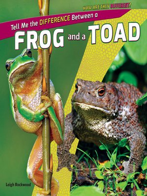 cover image of Tell Me the Difference Between a Frog and a Toad