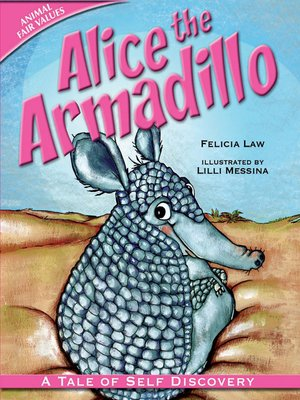 cover image of Alice the Armadillo