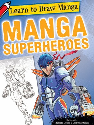 cover image of Manga Superheroes