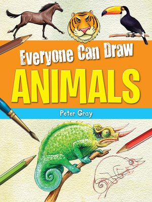 cover image of Everyone Can Draw Animals