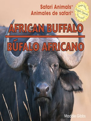 cover image of African Buffalo / Búfalo africano