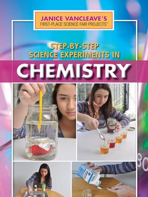 cover image of Step-by-Step Science Experiments in Chemistry