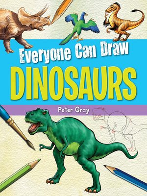 cover image of Everyone Can Draw Dinosaurs