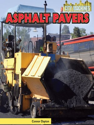 cover image of Asphalt Pavers