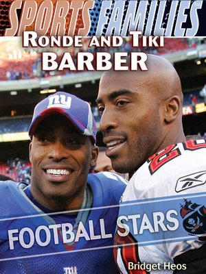 cover image of Ronde and Tiki Barber