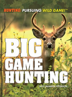 cover image of Big Game Hunting