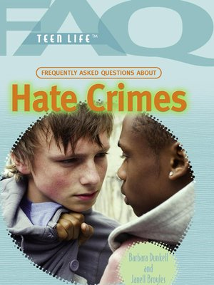 the issue of hate crimes in society Crime is a social problem because it is undesirable to the society a social problem is a situation that at least some people in the society perceive as undesirable crime is analyzed from a social problems perspective because it's considered a manifestation of underlying social problems the.