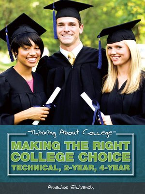 cover image of Making the Right College Choice