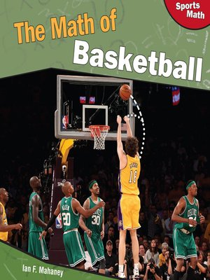 cover image of The Math of Basketball