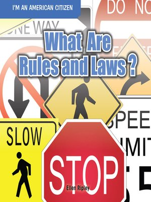 cover image of What Are Rules and Laws?