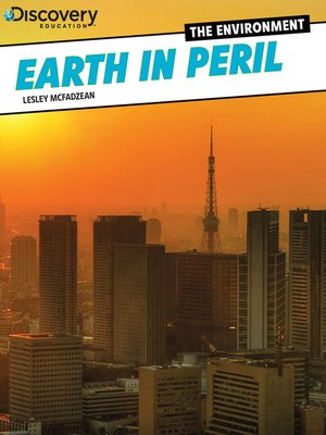 cover image of Earth in Peril