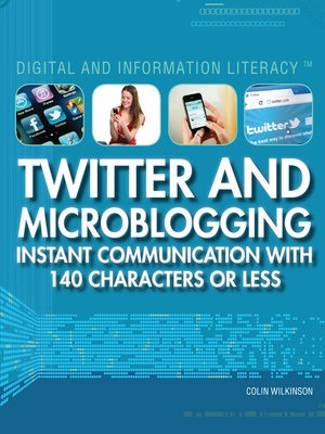 cover image of Twitter and Microblogging
