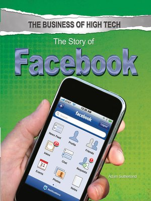 cover image of The Story of Facebook