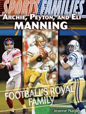 cover image of Archie, Peyton, and Eli Manning