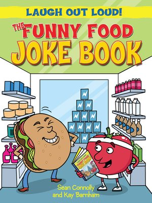 cover image of The Funny Food Joke Book
