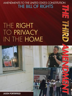 cover image of The Third Amendment