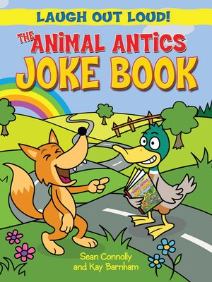 cover image of The Animal Antics Joke Book