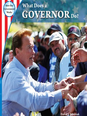 cover image of What Does a Governor Do?