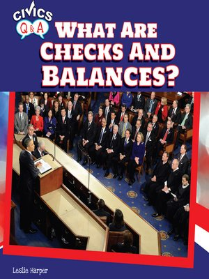 cover image of What Are Checks and Balances?