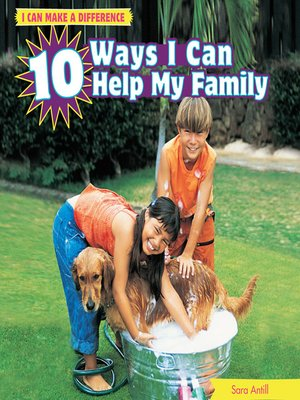 cover image of 10 Ways I Can Help My Family
