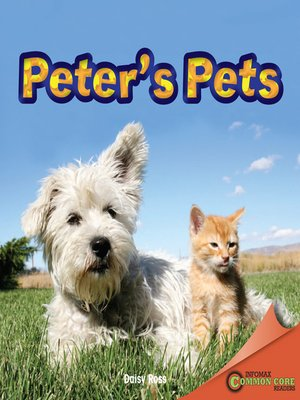 cover image of Peter's Pets