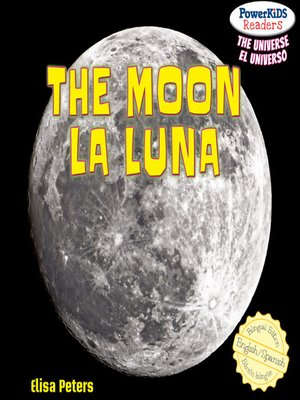 cover image of The Moon / La Luna