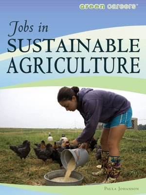 cover image of Jobs in Sustainable Agriculture
