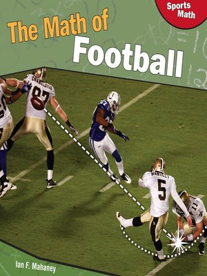 cover image of The Math of Football