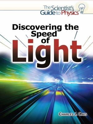 cover image of Discovering the Speed of Light