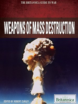 cover image of Weapons of Mass Destruction