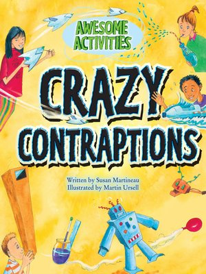 cover image of Crazy Contraptions