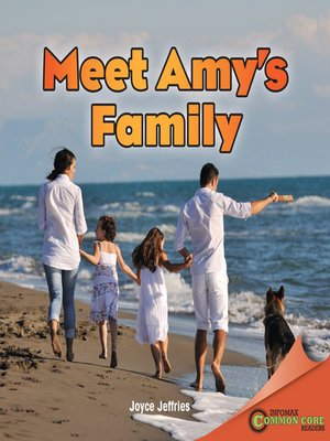 cover image of Meet Amy's Family
