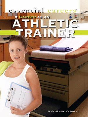 cover image of A Career as an Athletic Trainer