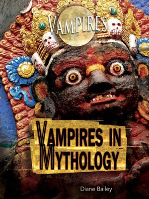 cover image of Vampires in Mythology