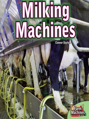 cover image of Milking Machines