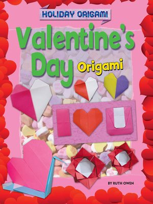 cover image of Valentine's Day Origami