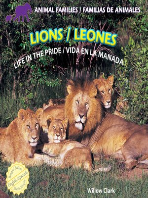 cover image of Lions / Leones