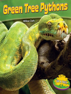 cover image of Green Tree Pythons