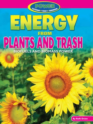 cover image of Energy from Plants and Trash