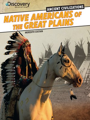 cover image of Native Americans of the Great Plains