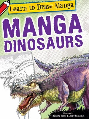 cover image of Manga Dinosaurs