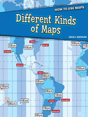 cover image of Different Kinds of Maps