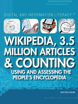 cover image of Wikipedia, 3.5 million Articles & Counting