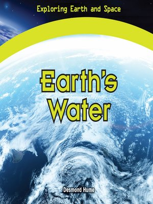 cover image of Earth's Water