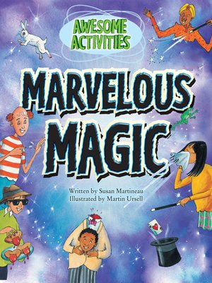 cover image of Marvelous Magic